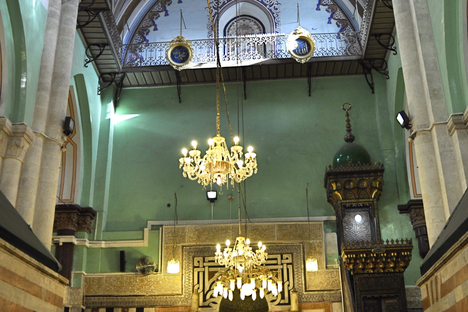 Al Khalil Mosque Inside Islamic Spain Tour From Accurate Travels & Travels INC