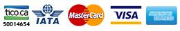 Tico.Ca Iata Master Card Visa Amex